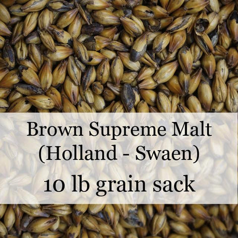 Brown Supreme Malt 10 lb (Holland - Swaen)