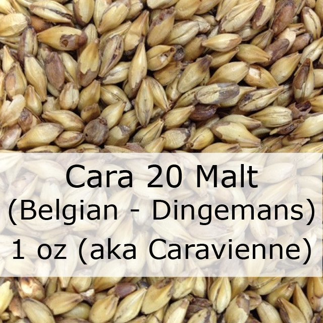 Grain - Cara 20 Malt 1 Oz (Belgian - Dingemans)