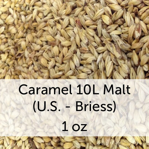Caramel (Crystal) 10L Malt 1 oz (US - Briess)