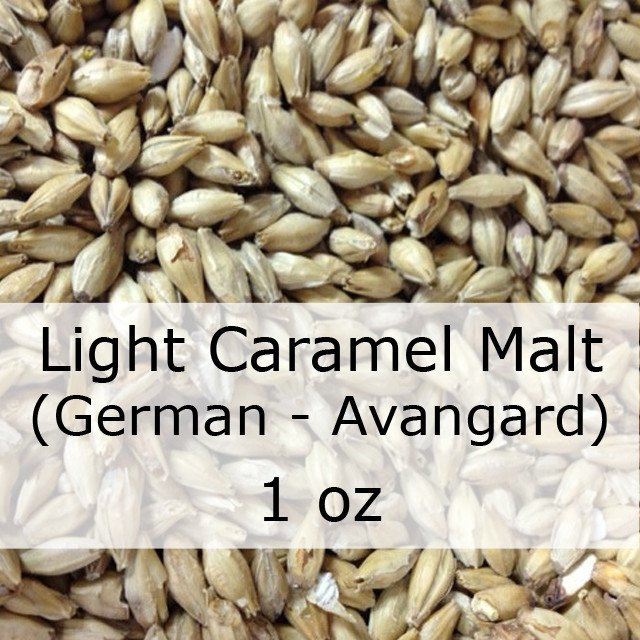 Grain - Caramel (Crystal) Malt Light 1 Oz (German - Avangard)