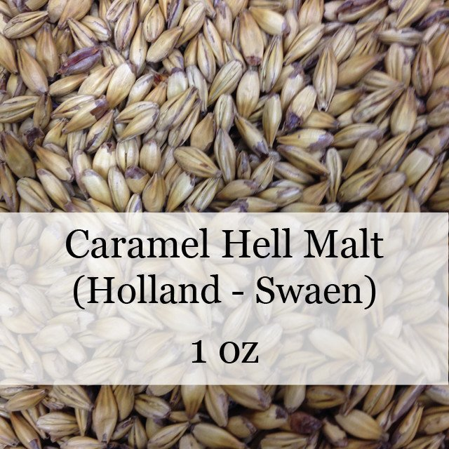 Grain - Caramel Hell Malt 1 Oz (Holland - Swaen)