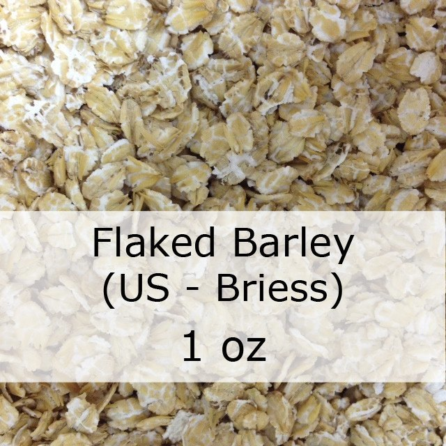 Grain - Flaked Barley 1 Oz (US - Briess)