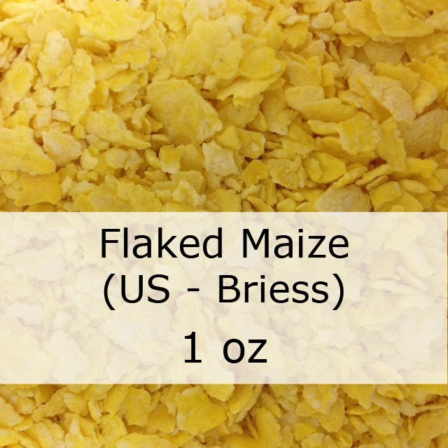 Grain - Flaked Maize (Corn) 1 Oz (US - Briess)
