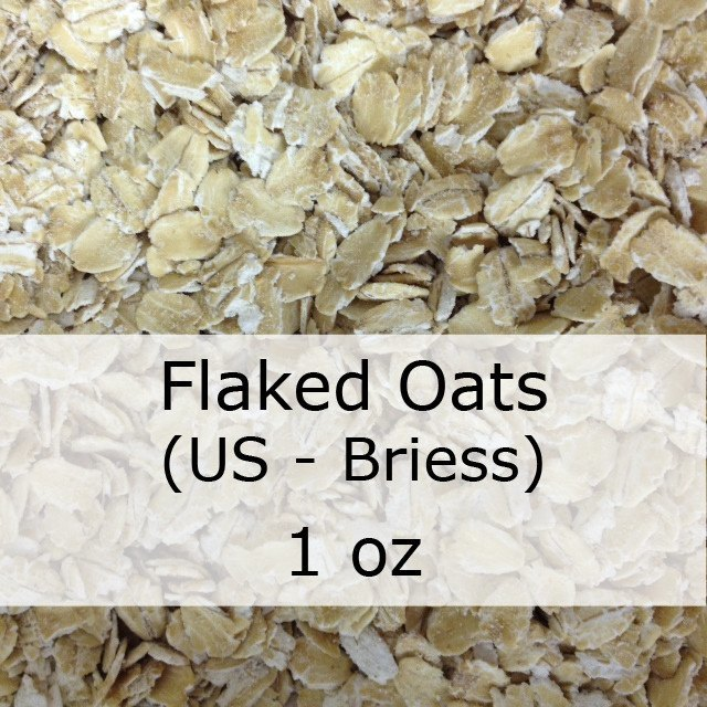 Grain - Flaked Oats 1 Oz (US - Briess)