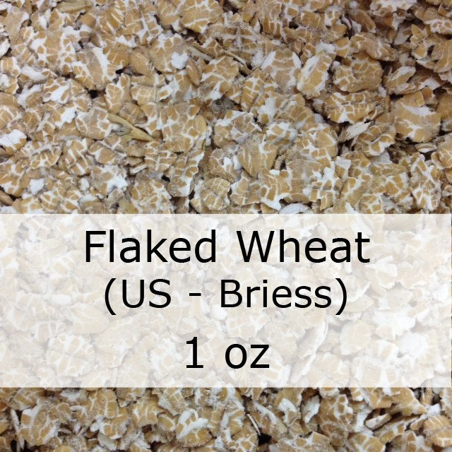 Grain - Flaked Wheat 1 Oz (US - Briess)