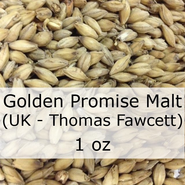 Grain - Golden Promise Pale Ale Malt 1 Oz (UK - Thomas Fawcett)