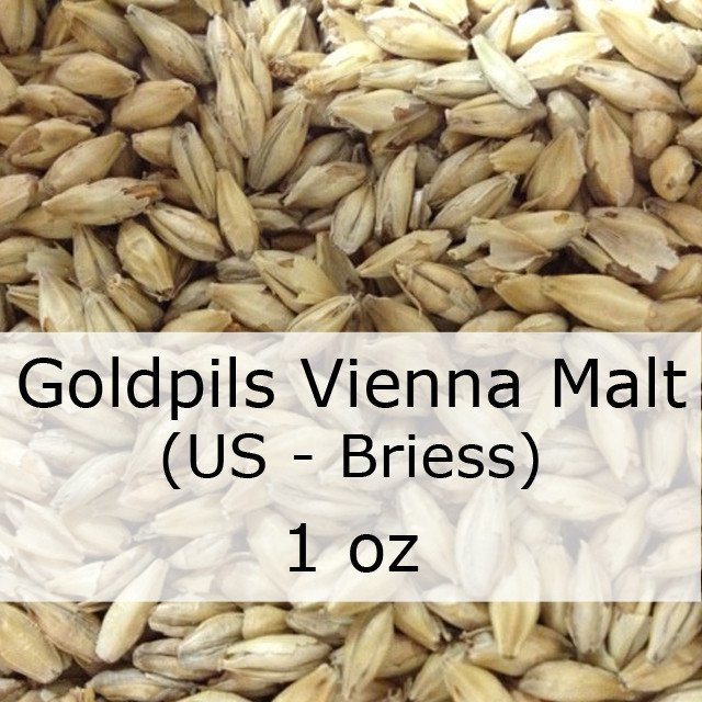 Grain - Goldpils Vienna Malt 1 Oz (US - Briess)