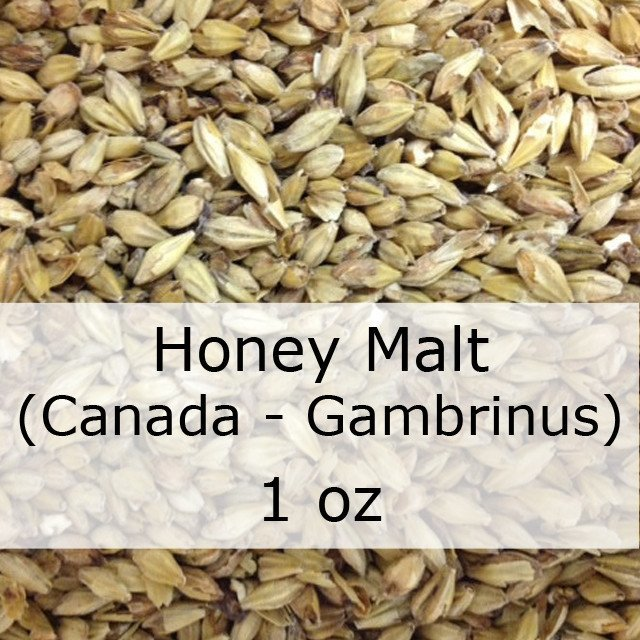 Grain - Honey Malt 1 Oz (Canadian - Gambrinus)