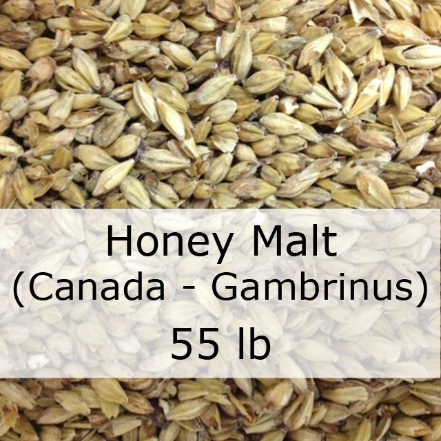 Grain - Honey Malt 55 LB Sack (Canadian - Gambrinus)