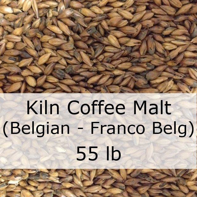 Grain - Kiln Coffee Malt 55 LB Sack (Franco-Belg)