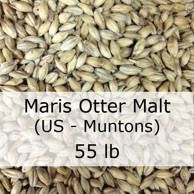 Grain - Maris Otter Pale Ale Malt 55 LB Grain Sack (UK - Muntons)