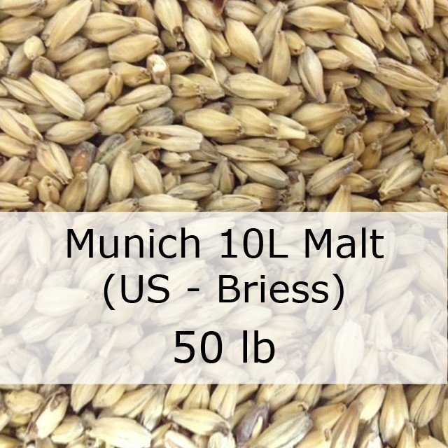 Grain - Munich 10L Malt 50 LB Sack (US - Briess)