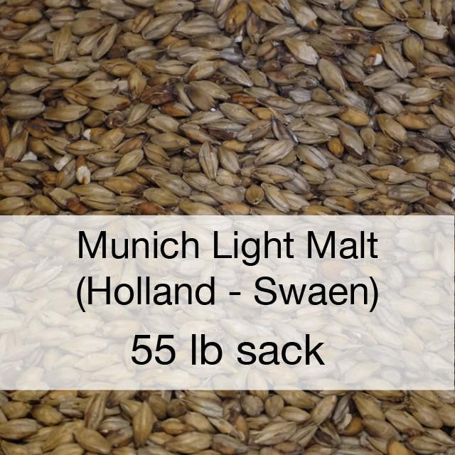 Grain - Munich Light Malt 55 Lb (Holland - Swaen)