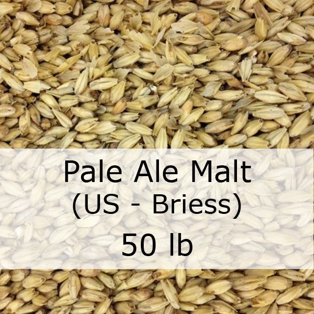 Grain - Pale Ale 2-Row Malt 50 LB Sack (US - Briess)