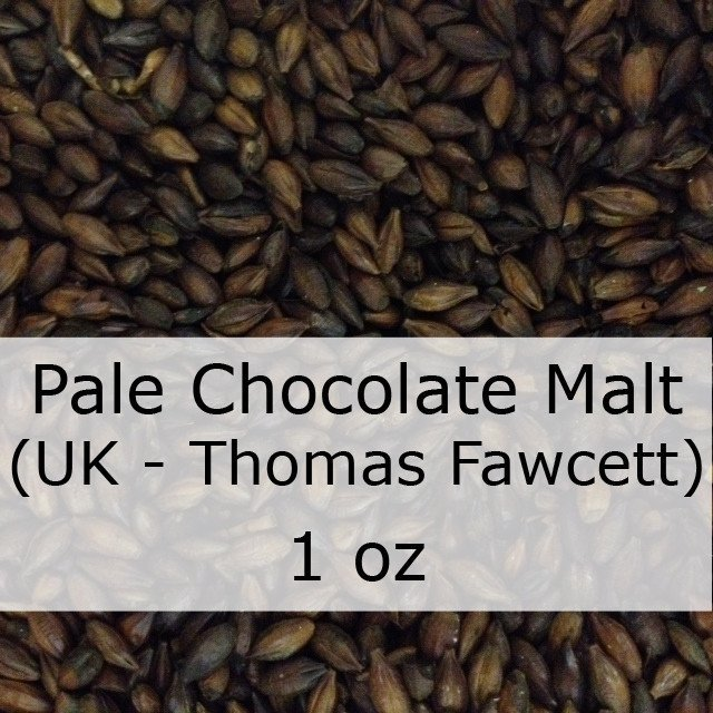 Grain - Pale Chocolate Malt 1 Oz (UK - Thomas Fawcett)