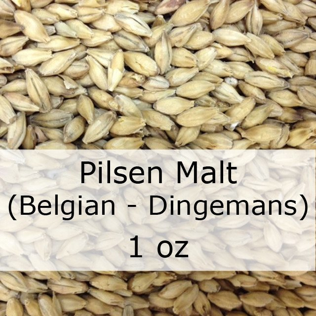 Grain - Pilsen Malt 1 Oz (Belgian - Dingemans)