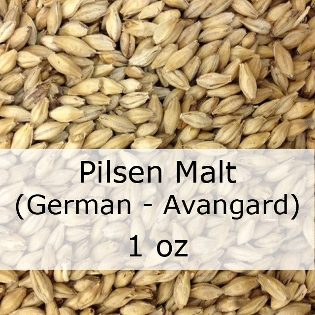 Grain - Pilsen Malt 1 Oz (German - Avangard)