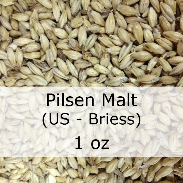Grain - Pilsen Malt 1 Oz (US - Briess)