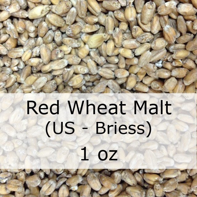 Grain - Red Wheat Malt 1 Oz (US - Briess)