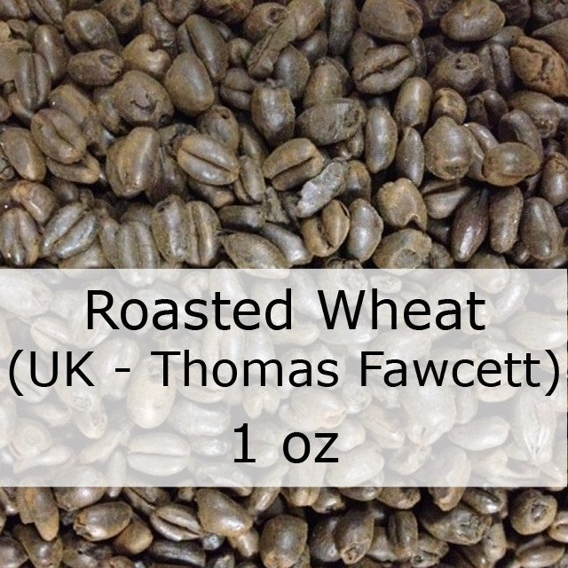 Grain - Roasted Wheat Malt 1 Oz (UK - Thomas Fawcett)