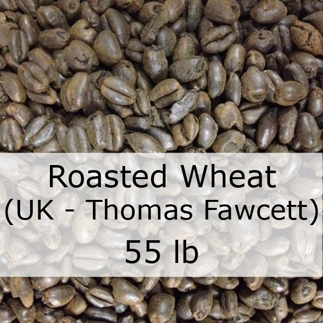 Grain - Roasted Wheat Malt 55 LB Grain Sack (UK - Thomas Fawcett)