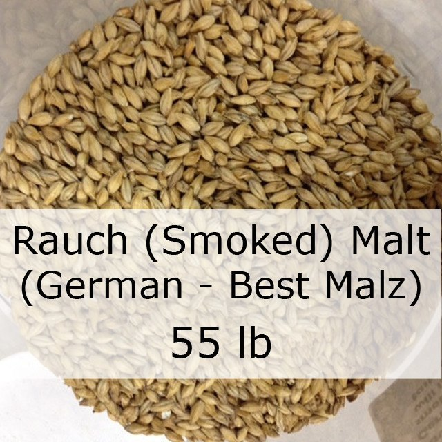 Grain - Smoked (Rauch) Malt 55 LB Grain Sack (German - Best Malz)