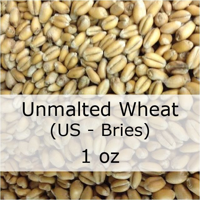 Grain - Unmalted Wheat 1 Oz (US - Briess)