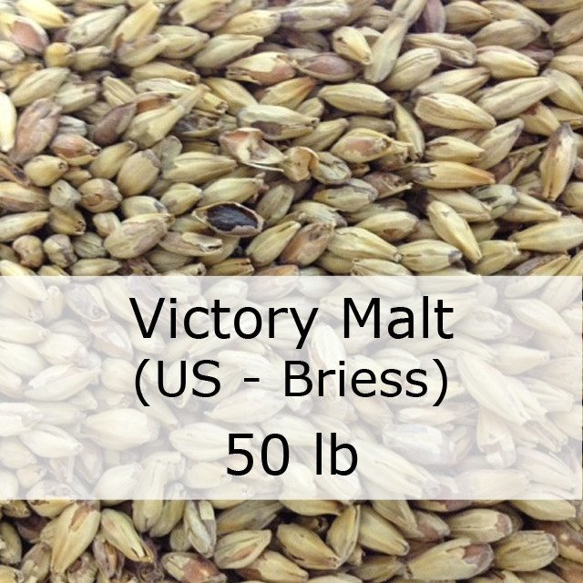 Grain - Victory Malt 50 LB Sack (US - Briess)