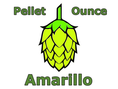 Amarillo Pellet Hops 1 OZ (US)