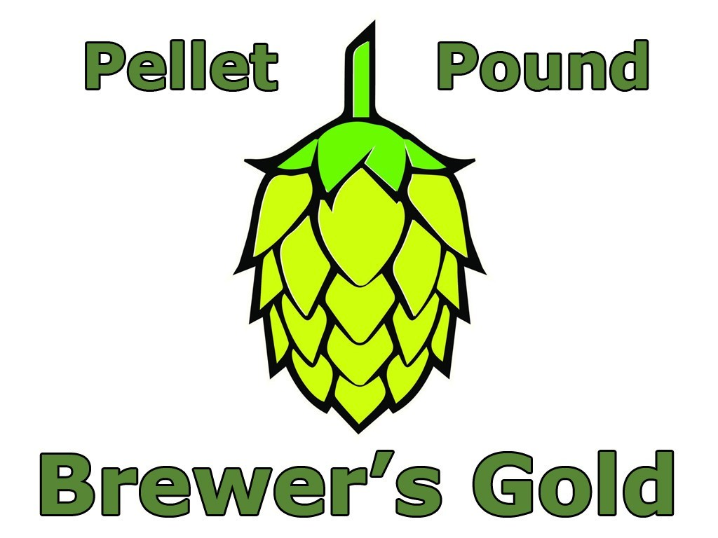 Hops - Brewer's Gold Pellet Hops 1 LB (US)