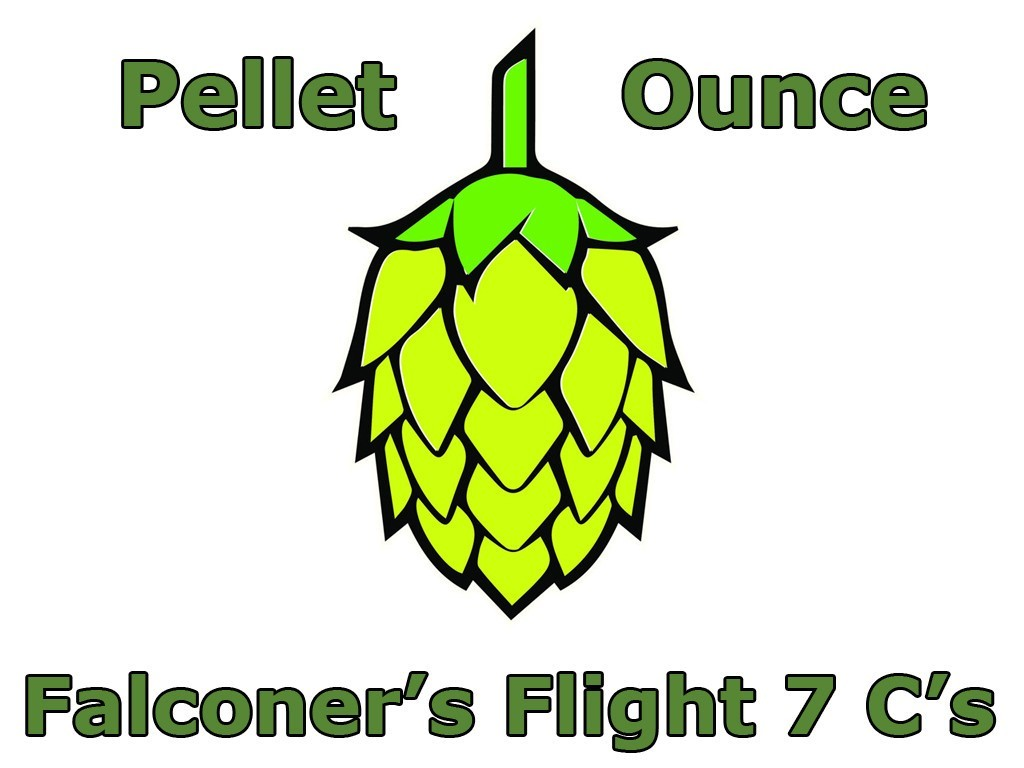 Hops - Falconer's Flight 7 Cs Pellet Hops 1 OZ (US)