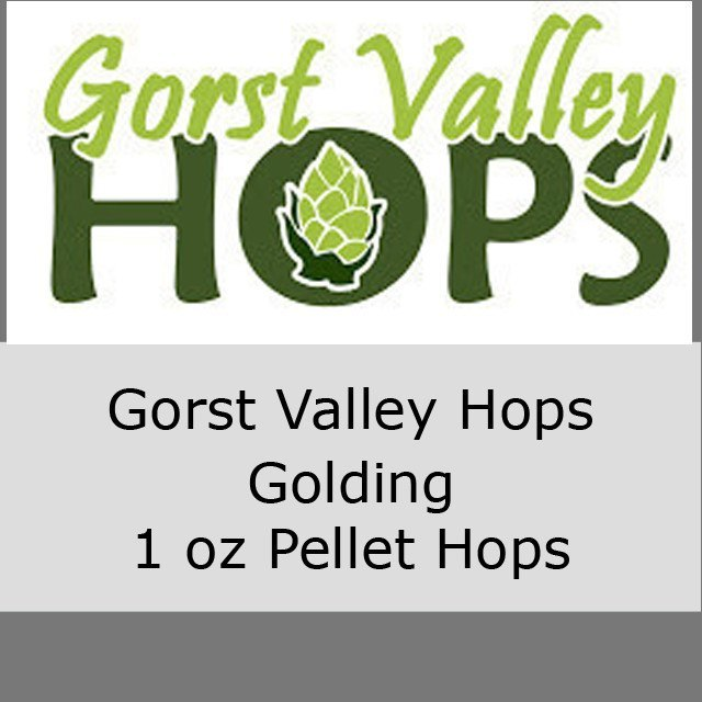 Hops - Gorst Valley Golding Pellet Hops 1 OZ (Local)