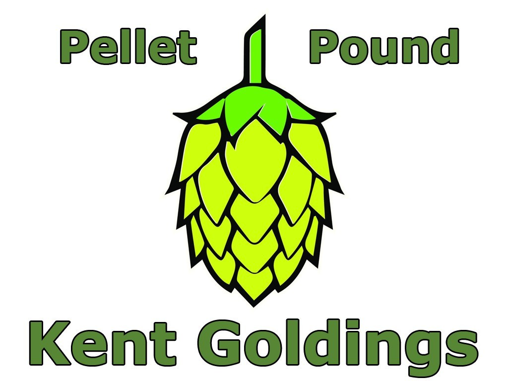 Hops - Kent Golding Pellet Hops 1 LB (UK)