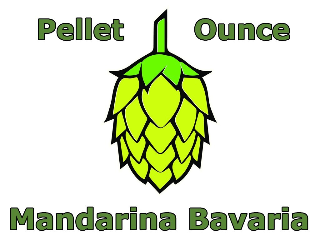 Hops - Mandarina Bavaria Pellet Hops 1 OZ (German)