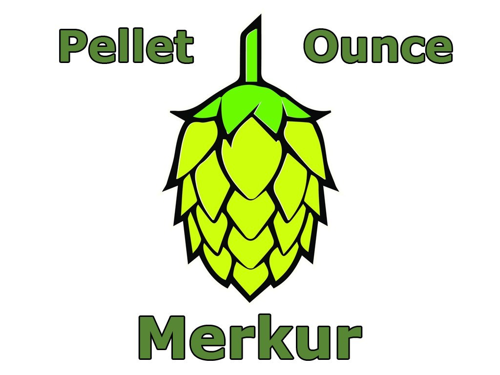 Hops - Merkur Pellet Hops 1 OZ (German)