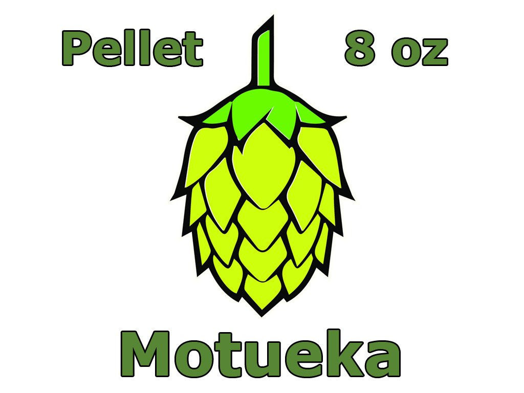 Hops - Motueka Pellet Hops 8 Oz (NZ)