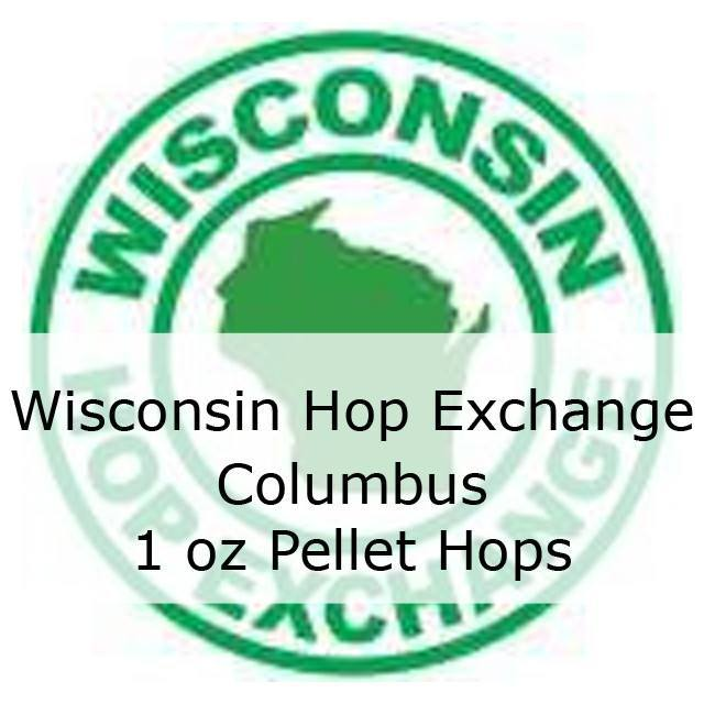 Hops - Wisconsin Hop Exchange Columbus Pellet Hops 1 Oz (Local)