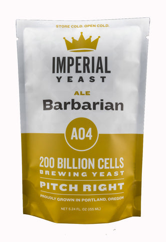 Imperial Yeast A04 Barbarian Ale Liquid Yeast