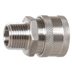 Keg And Draft Supplies - Female Stainless Disconnect MPT 1/2""