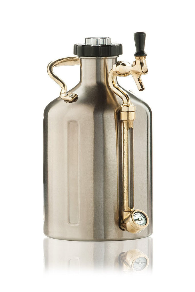 Keg And Draft Supplies - GrowlerWerks UKeg 128 Growler Mini-Keg (Gallon-Size)