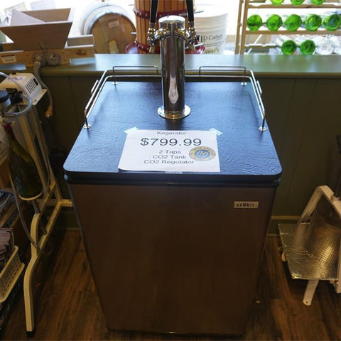 Kegerator - 2 taps - Used (Summit Brand)