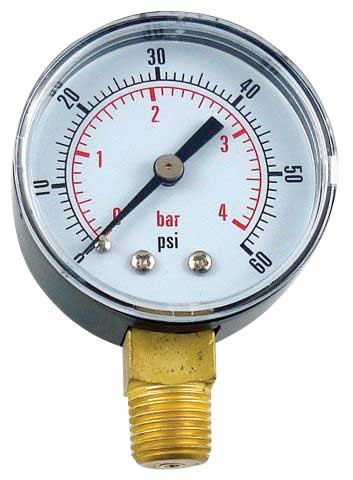 Replacement Low Pressure Gauge - RHT