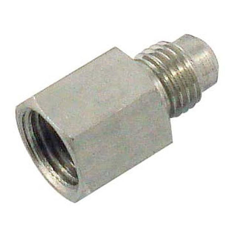 "Stainless Coupler - 1/2"" FPT x 1/4"" MFL"