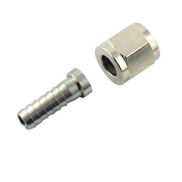 "Keg And Draft Supplies - Swivel Nut And 1/4"" Stem (for Corny Disconnects)"