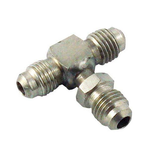 "Keg And Draft Supplies - Tee Barb 1/4"" MFL (Flare)"