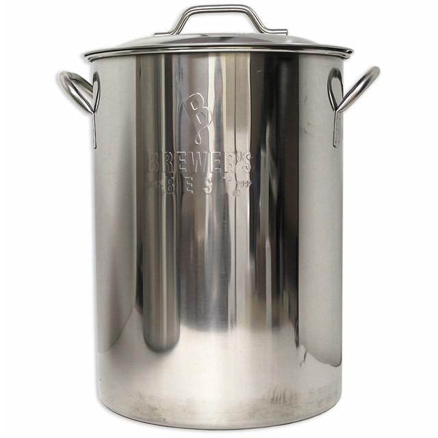 Kettles And All-Grain Equipment - 8 Gallon Stainless Steel Kettle (Brewer's Best)