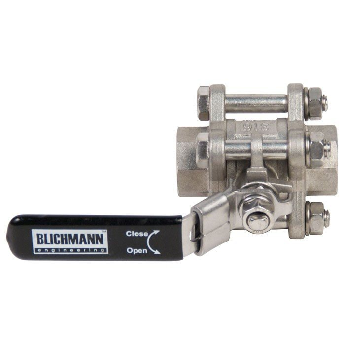 Kettles And All-Grain Equipment - Blichmann Stainless Ball Valves
