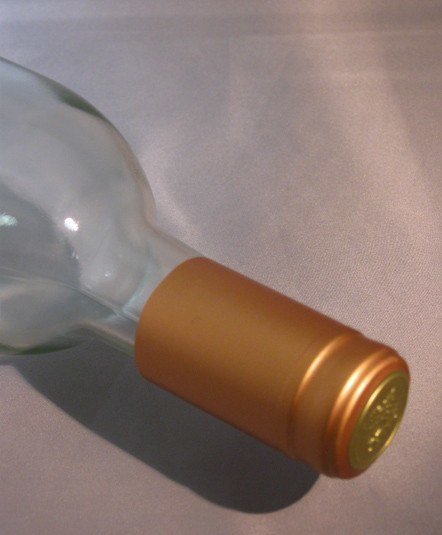 Labels, Shrink Caps, Assorted Bottling - PVC Shrink Caps, Bronze, Bag Of 30