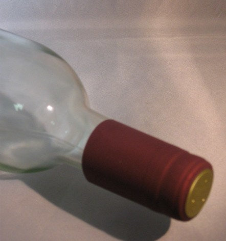 Labels, Shrink Caps, Assorted Bottling - PVC Shrink Caps, Burgundy, Bag Of 30