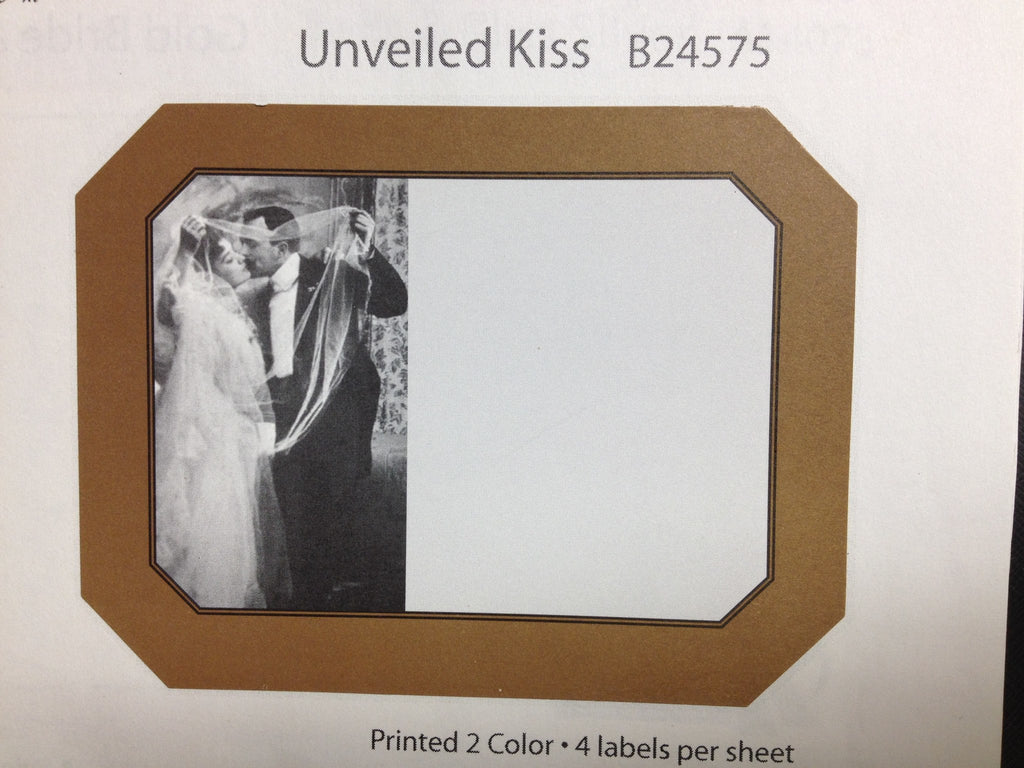 Labels, Shrink Caps, Assorted Bottling - Unveiled Kiss - 4th And Vine Labels
